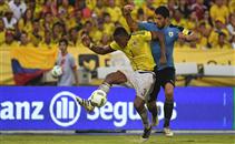 اهداف مباراة كولومبيا وأوروجواي