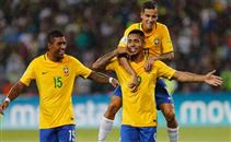 هدفا البرازيل فى مرمى فنزويلا