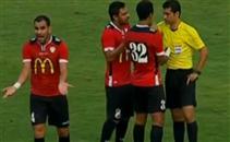 طرد احمد عيد عبد الملك في مباراة دجلة