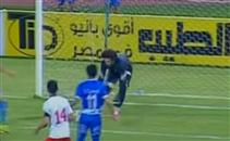 خطأ ساذج من ابو السعود كاد ان يكلفه هدف امام النصر