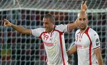 هدفا تونس فى مرمى غينيا