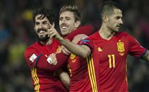 رباعية اسبانيا فى مرمى مقدونيا