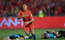 اهداف مباراة تشيلي وأوروجواي