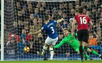 ملخص المباراة المثيرة بين ايفرتون ومانشستر يونايتد