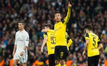 رباعية مباراة ريال مدريد وبروسيا دورتموند
