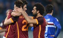 اهداف مباراة روما وسامبدوريا