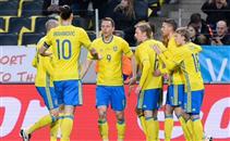 هدفا مباراة السويد والتشيك
