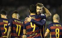 هدف برشلونة الثانى فى ريال بيتيس