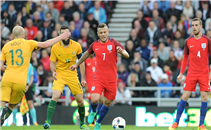ملخص المباراة الودية بين انجلترا واستراليا
