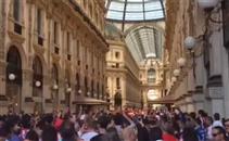 جماهير اتليتكو تحتشد في ميلانو