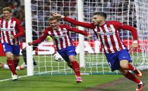 هدف اتلتيكو الاول فى ريال مدريد