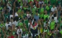 علم مصر فى مدرجات أهلي جدة