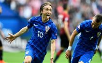 هدف كرواتيا فى مرمى تركيا