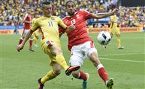 هدفا مباراة رومانيا وسويسرا