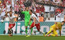 هدف بولندا فى مرمى أوكرانيا