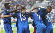 رباعية فرنسا فى ايطاليا بنهائي يورو الشباب