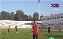 مران الأهلي الأخير قبل مباراة الوداد