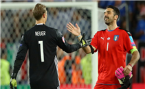اهداف وركلات ترجيح مباراة المانيا وايطاليا