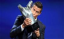 لحظة فوز رونالدو بأفضل لاعب في اوروبا