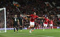 هدف مانشستر يونايتد في مرمي زوريا لوهانشك