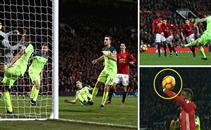 ملخص المباراة المثيرة بين مانشستر يونايتد وليفربول