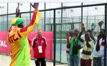 جماهير مالي تحفز لاعبيها في المران قبل لقاء غانا