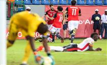 هدف مصر فى مرمى أوغندا