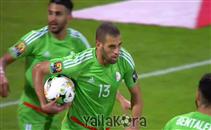 أهداف مباراة الجزائر والسنغال بصوت الملعب