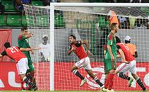 هدف مصر فى مرمى المغرب