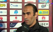 عبد الحفيظ: فوزنا المباراة وخسرنا عاشور