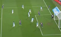هدف غير صحيح لبرشلونة أمام مالاجا