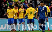 ملخص فوز البرازيل على اليابان