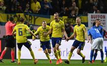 هدف السويد في ايطاليا