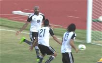 هدفا مباراة غانا ومصر