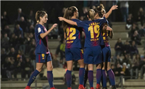 سيدات برشلونة تكتسح فريق مدريد بسباعية