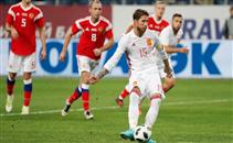 أهداف مباراة روسيا واسبانيا
