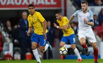 ملخص تعادل انجلترا أمام البرازيل