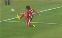 مرعي يصنع فرصة هدف جديدة امام شبيبة القيروان
