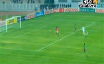 عمرو مرعي يهدر هدف والمرمى خالي أما الملعب التونسي