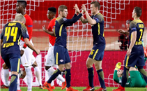 أهداف مباراة موناكو ولايبزيج