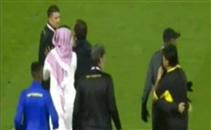 مشادة بعد نهاية مباراة النصر واتحاد جدة