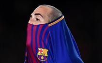 خماسية برشلونة فى ريال مورسيا