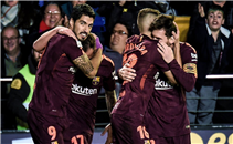 هدفا برشلونة فى فياريال