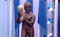 تمثال جديد لمارادونا فى الهند