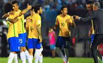 اهداف مباراة اوروجواي والبرازيل