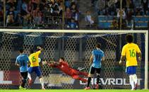 ملخص مباراة اوروجواي والبرازيل