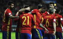 أهداف مباراة اسبانيا واسرائيل
