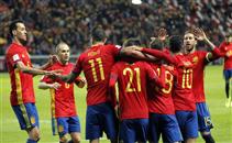 ملخص فوز اسبانيا علي اسرائيل