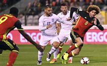 هدفا مباراة بلجيكا واليونان