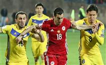 هدفا ارمينيا فى كازاخستان